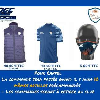 🔹🔸 Catalogue RCM par ELGE SPORT 🔸🔹